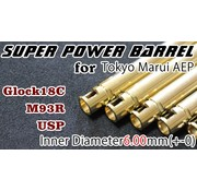 Orga Hi-Capa 5.1 AEP Super Power 6.00mm Barrel
