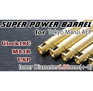 Orga Hi-Capa 5.1 AEP Super Power 6.00mm Barrel
