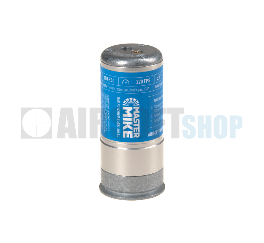 Master Mike Gas Magnum  BB Grenade Shell