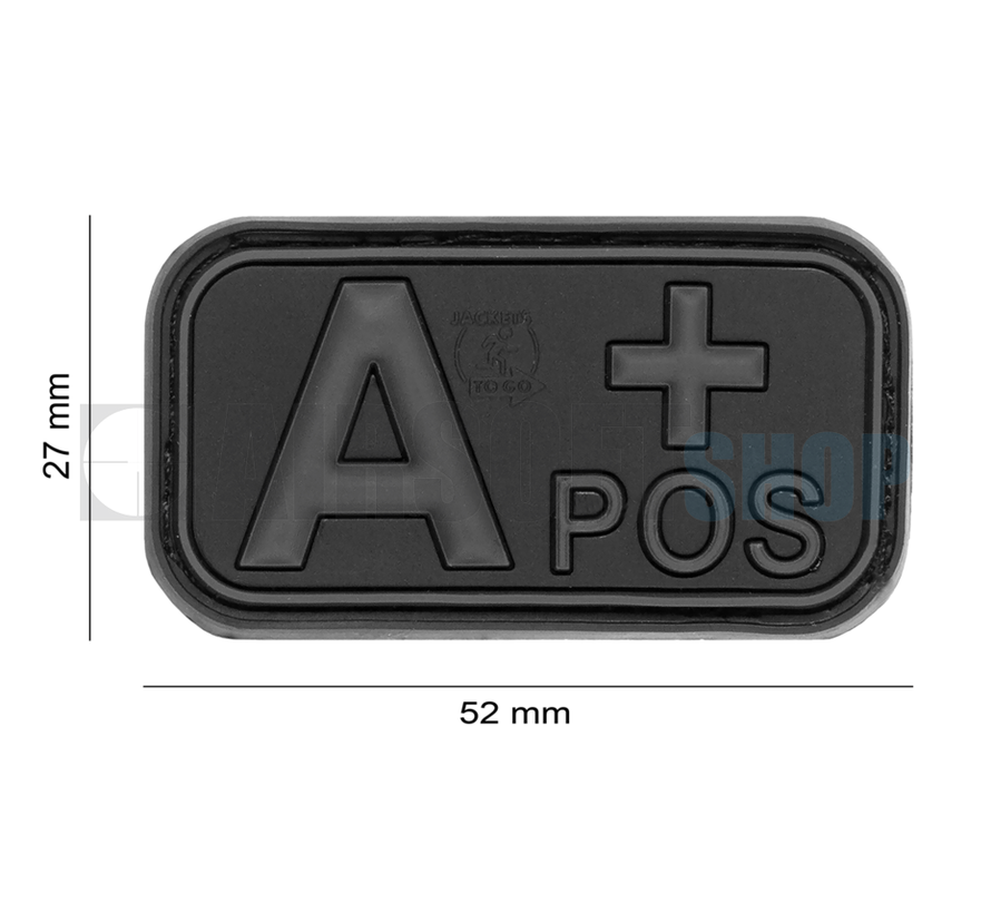 Bloodtype Rubber Patch A POS (Blackops)