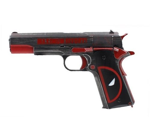 Armorer Works 1911 DEADPOOL Style GBB