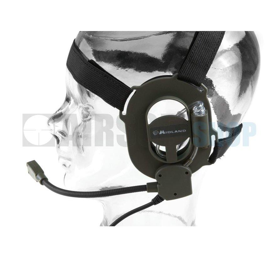 Bow M Military Headset (Kenwood Plug)