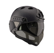 WARQ Full Face Mask & Helmet (Black - RAPTOR LINER)