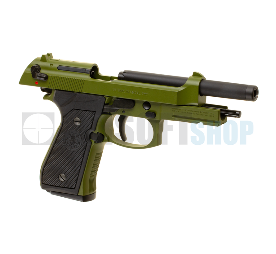 GPM92 MS Metal Version GBB (Olive)