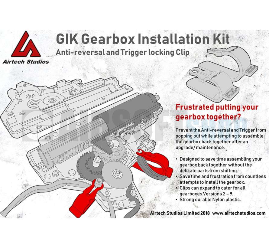 Gearbox Installation Kit V2 – V7