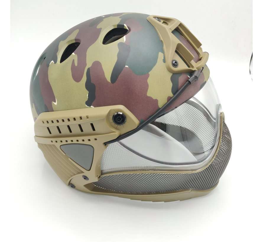 Full Face Mask & Helmet (ABL)