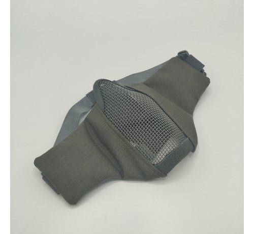 101 Inc Nylon / Mesh Face Mask (Grey)