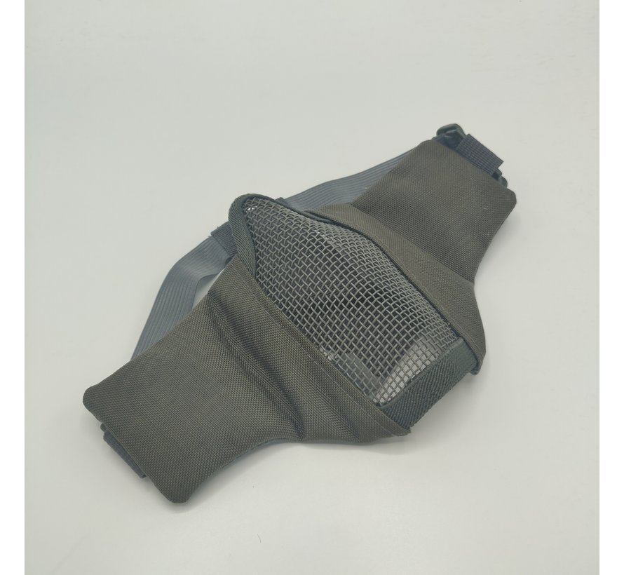 Nylon / Mesh Face Mask (Grey)
