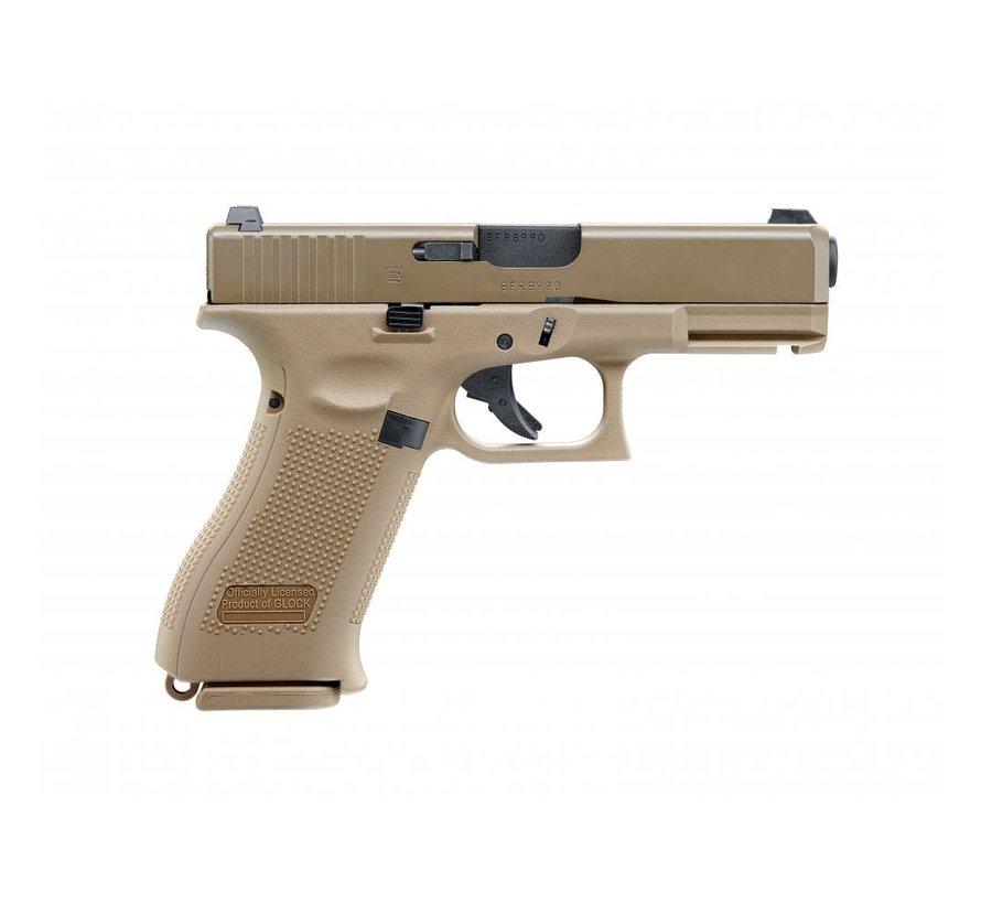 Glock G19X GBB (Tan)