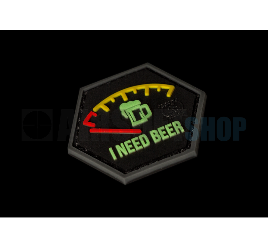 I need Beer Rubber Patch (Red)
