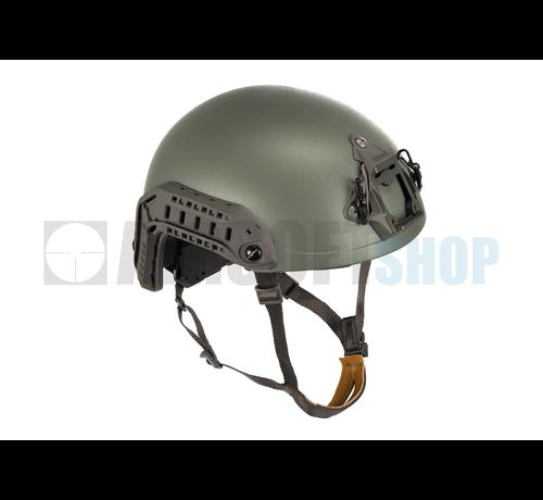 FMA SF Super High Cut Helmet (Foliage Green)