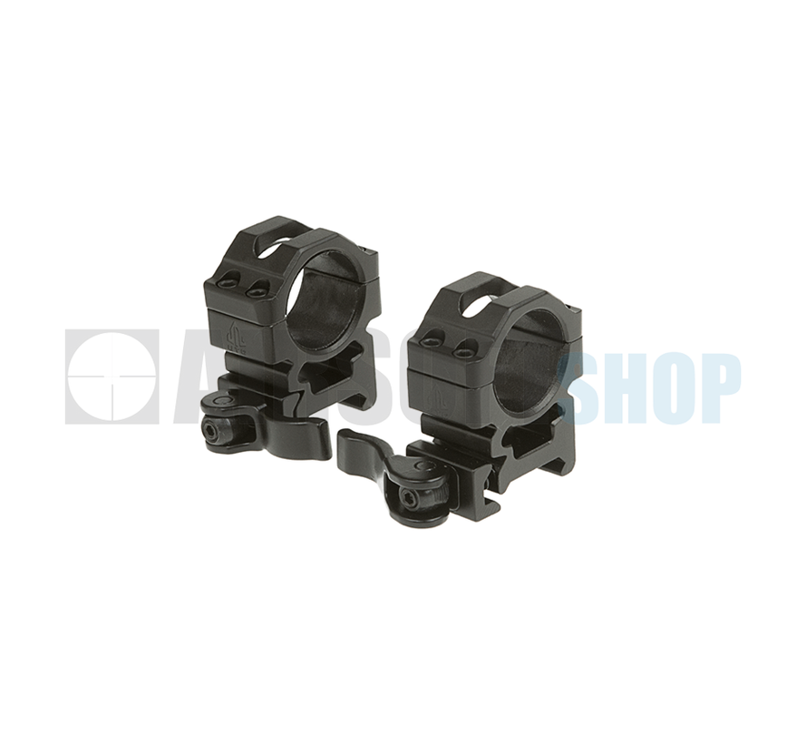 QD 25.4mm Mount Rings (Medium)