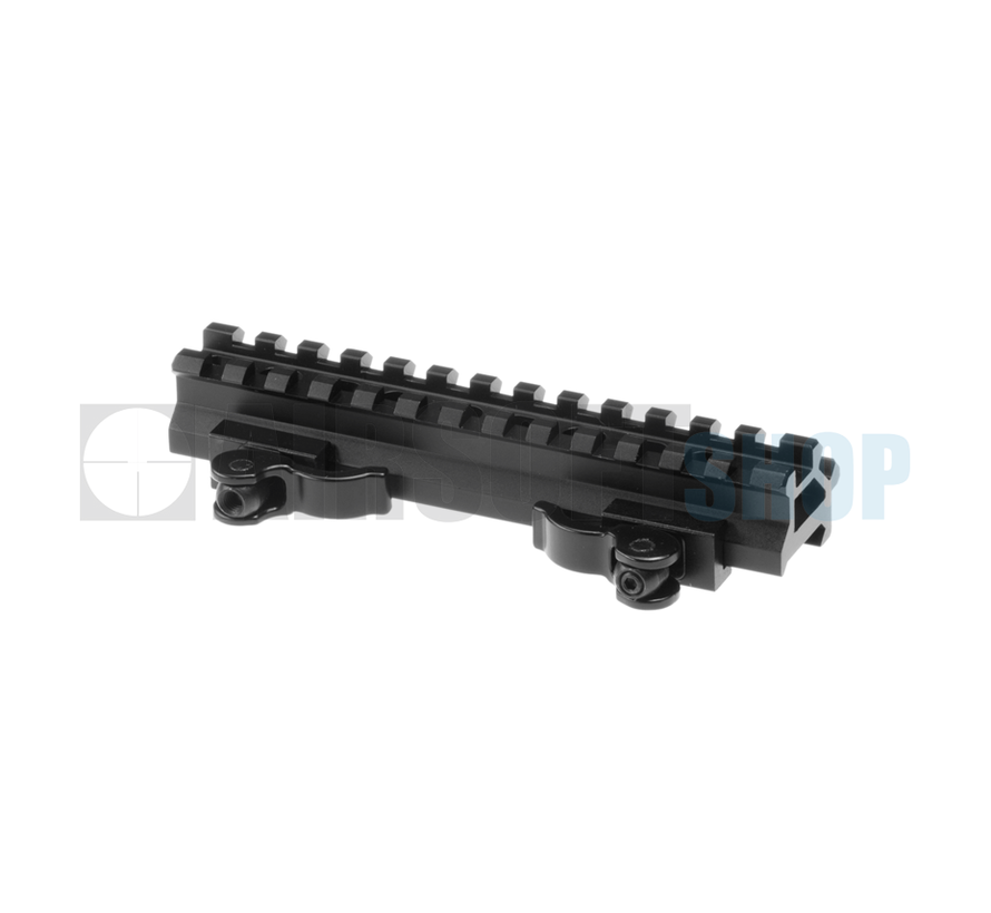 QD Angle Mount Double Rail 13-Slot