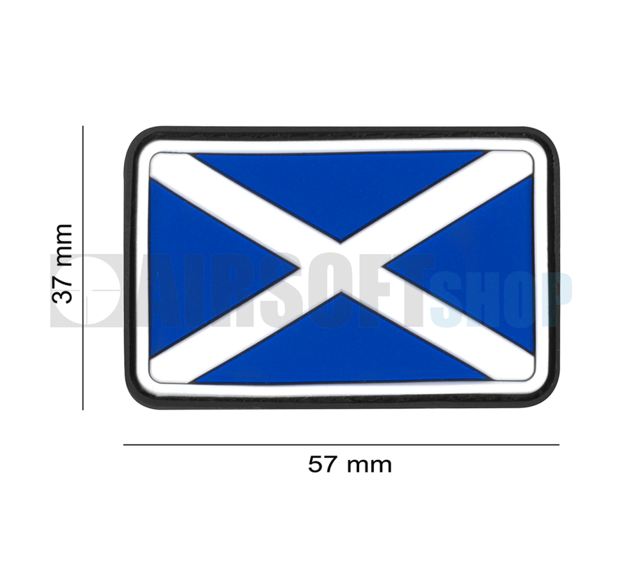 Scotland Flag Rubber Patch