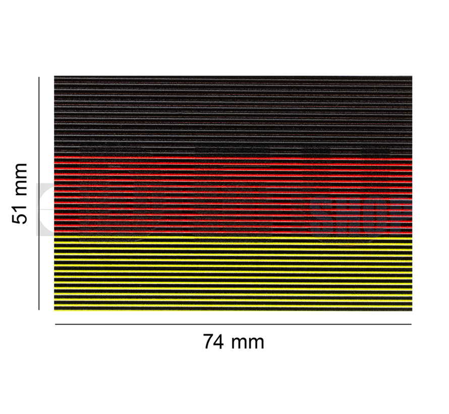 Dual IR Patch Germany (Color)