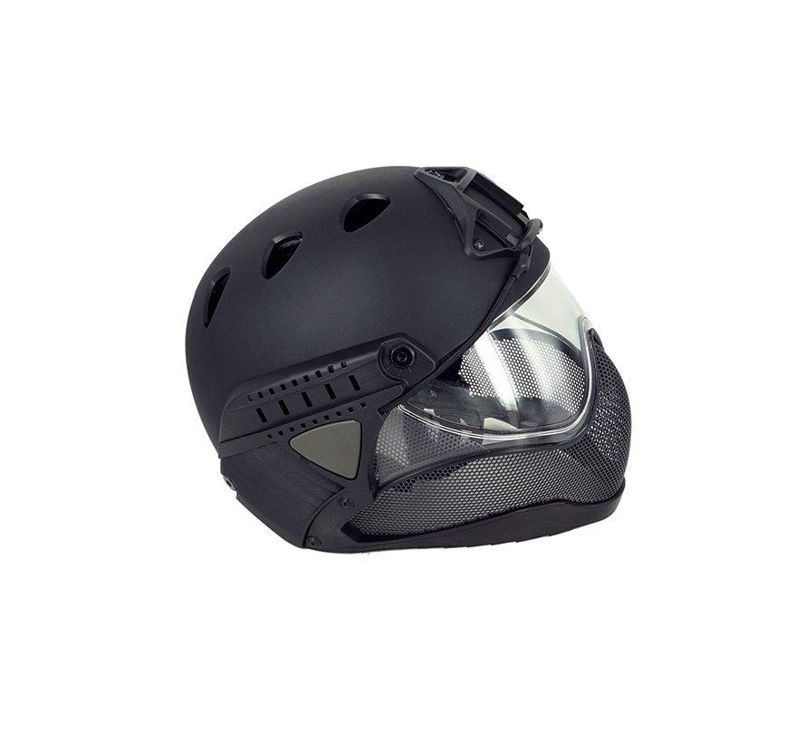 Full Face Mask & Helmet (Black)