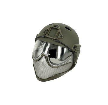 WARQ Full Face Mask & Helmet (Olive)
