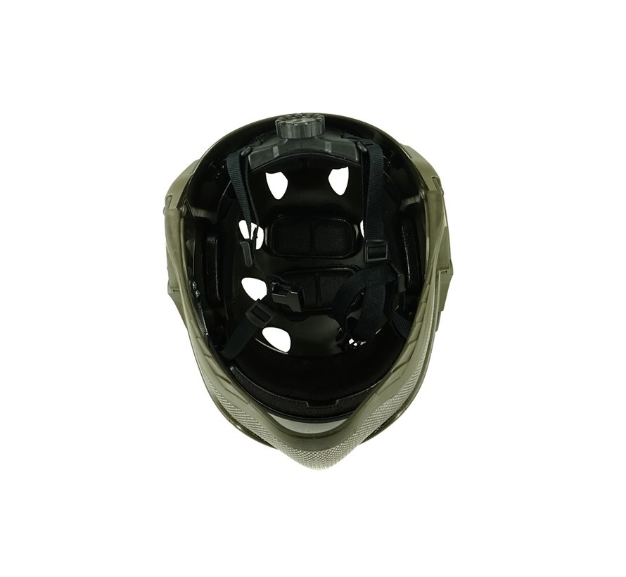 Full Face Mask & Helmet (Olive)