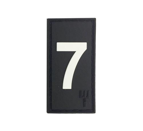 Pitchfork Number 7 Patch (Black)
