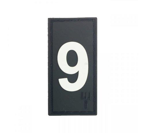 Pitchfork Number 9 Patch (Black)