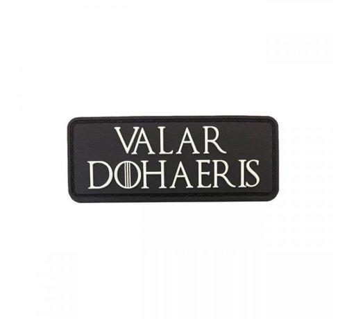 Pitchfork Valar Dohaeris Patch (Black)