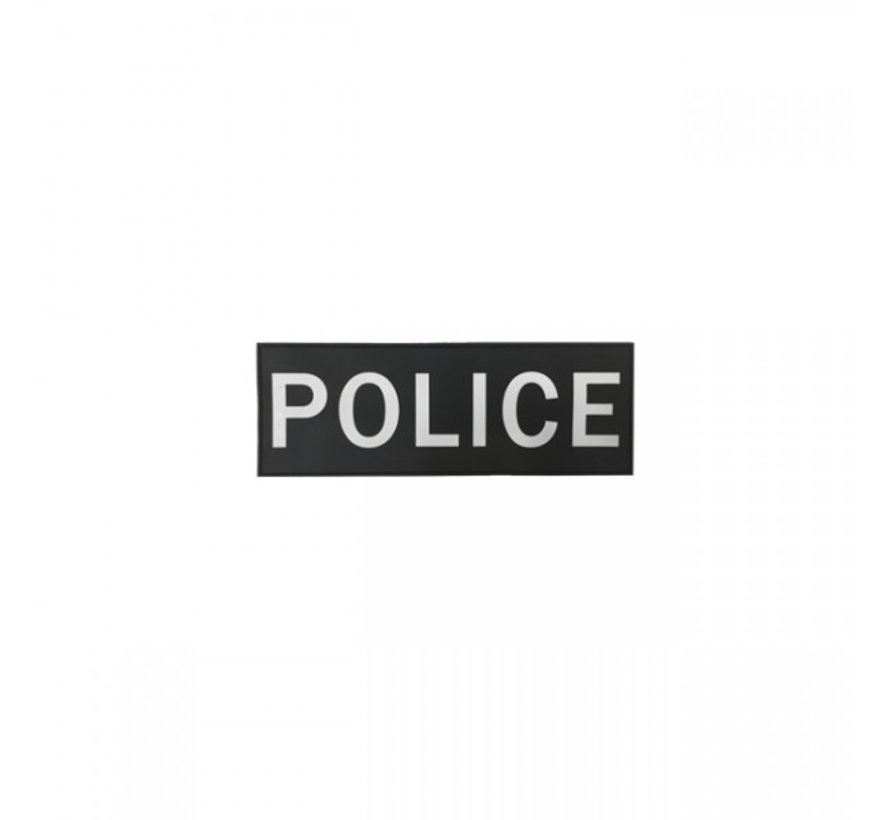 Police Patch Small (Black)