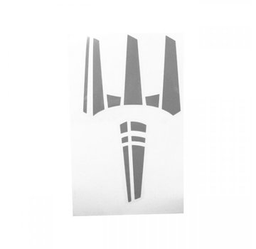 Pitchfork The Trident Sticker (Urban Grey)