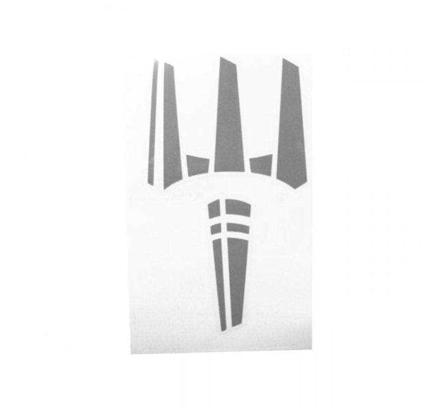 The Trident Sticker (Urban Grey)