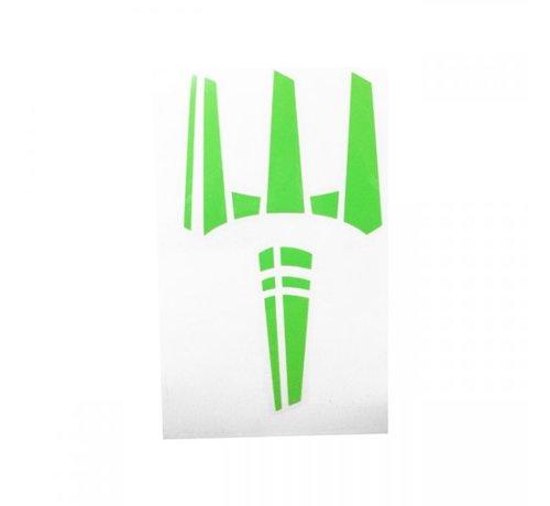 Pitchfork The Trident Sticker (Zombie Green)