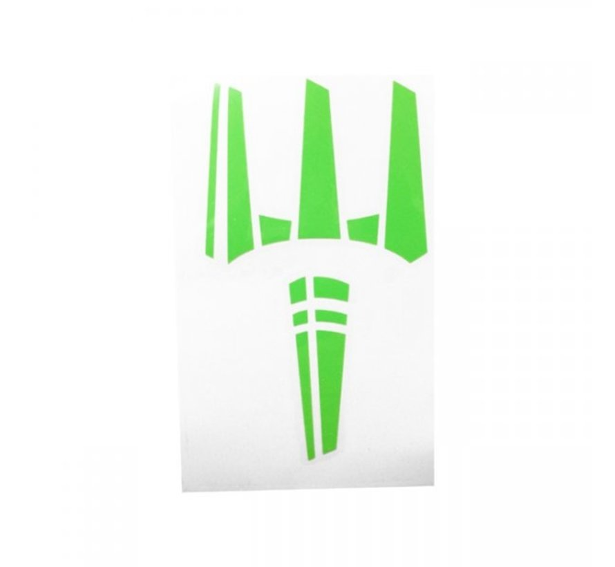 The Trident Sticker (Zombie Green)