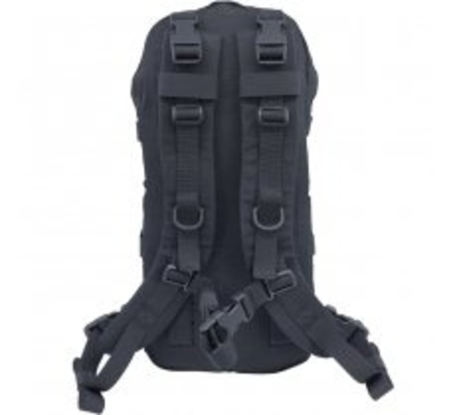 Medium Cargo & Hydration Pack (Black)