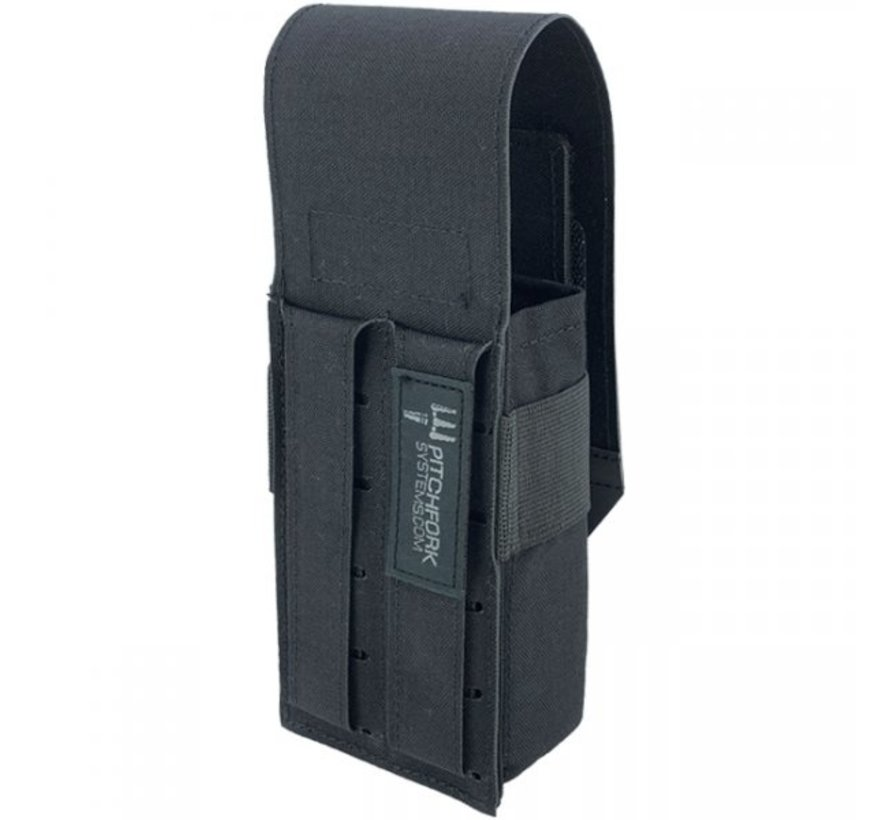 Closed Single AK Magazine Pouch (Black)
