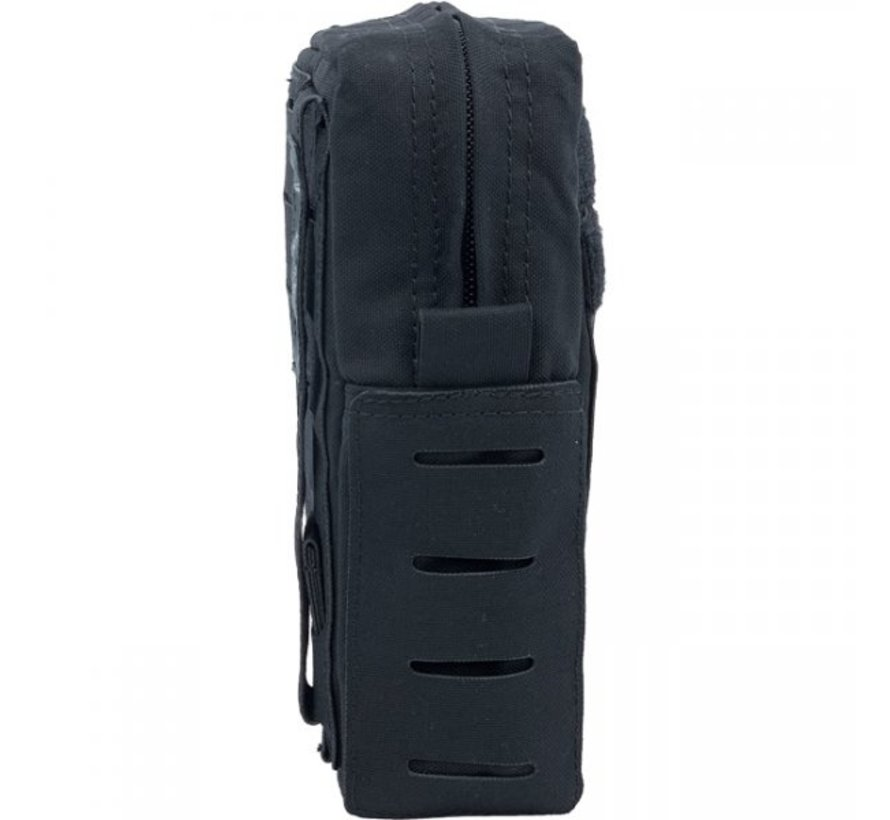 Medium Vertical Utility Pouch (Black)