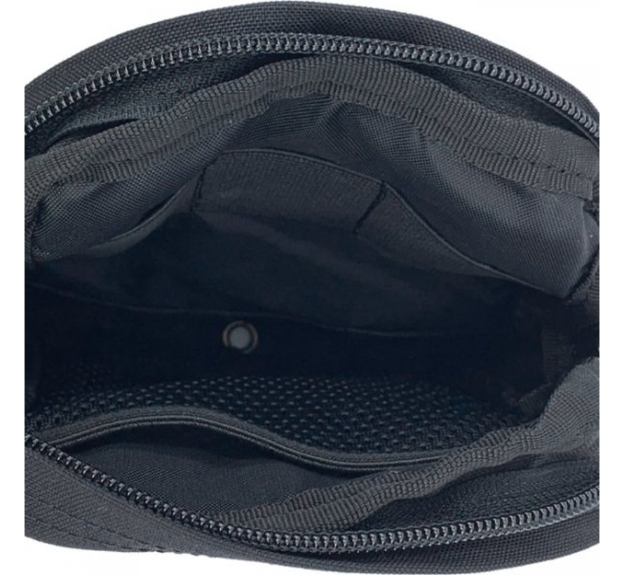 Small Vertical Utility Pouch (Black)