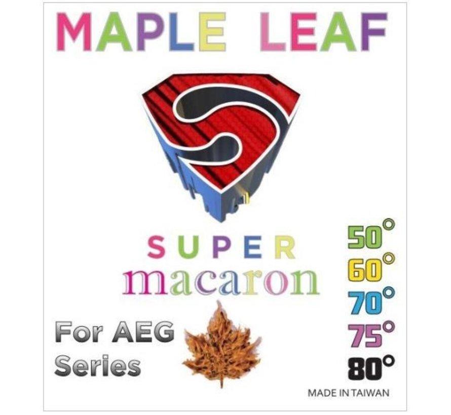 Super Macaron Hop Up Rubber 75 Degree