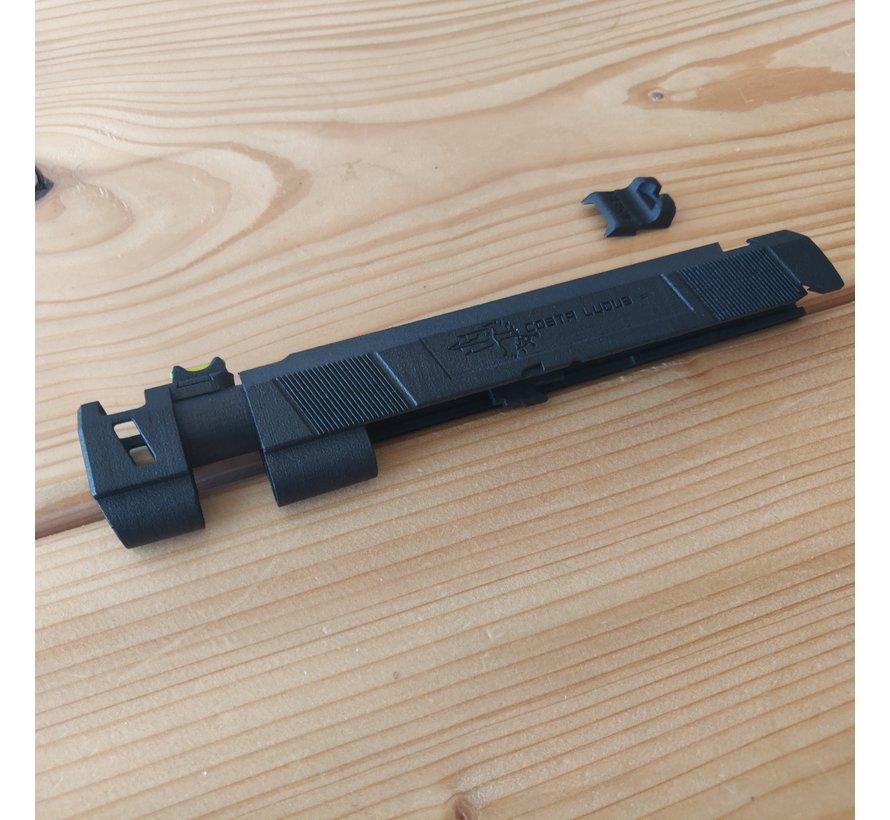 3D Print Hi-Capa Costa Comp MJF Slide (Black)