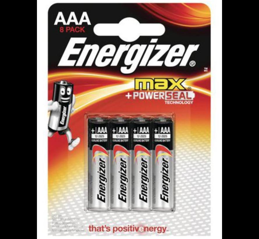 AAA/LR03  Alkaline Batterij