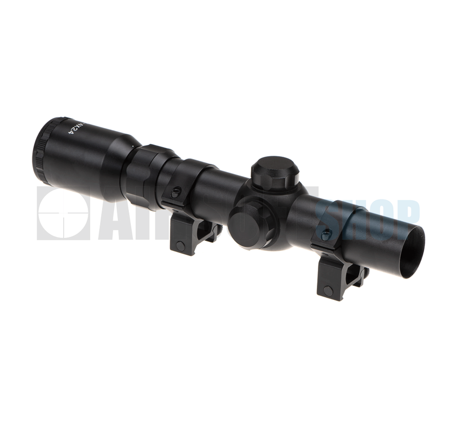 1-4x24 Tactical Scope (Black)
