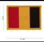 Belgium Woven Patch (No Velcro)