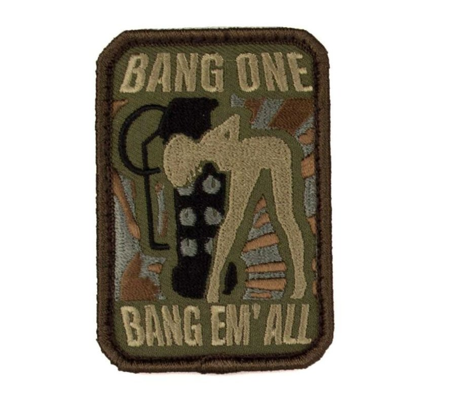 Bang Em All Patch (Medium / Forest)