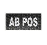 Airsoftshop AB Pos IR Patch (Black)