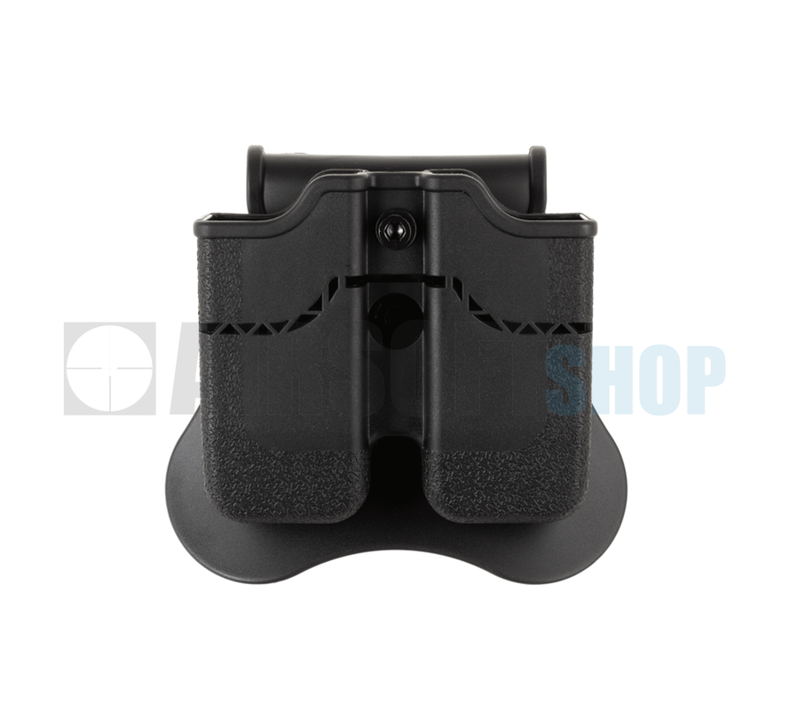 Double Mag Pouch for WE / KJW / KWA / TM 1911 (Black)