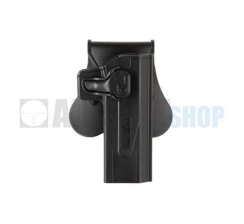 Amomax Paddle Holster for Paddle Holster For KJW Hi-Capa (Black)