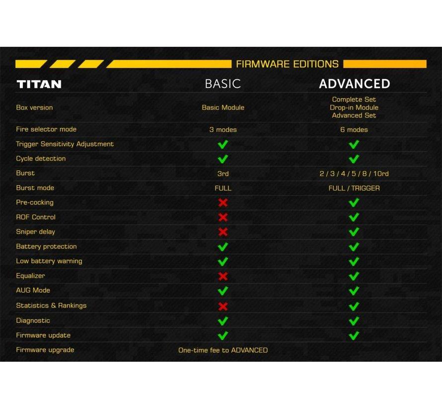 Custom Krytac Trident MK2 SPR-M With Titan (Black)