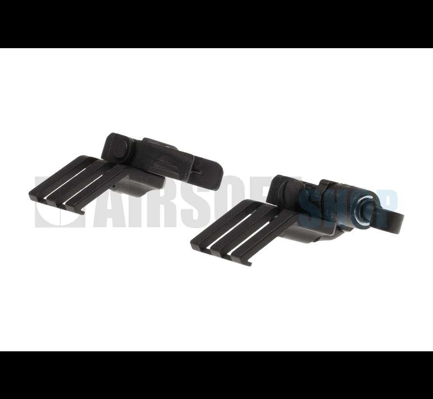 Offset Flip-Up Sights Type A (Black)