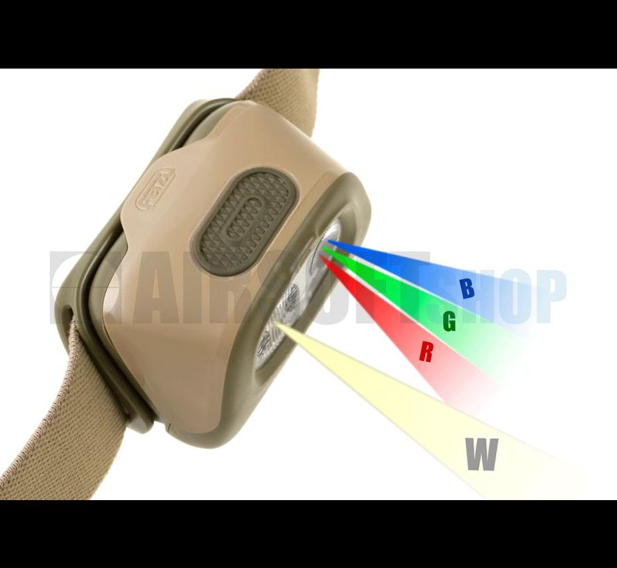Headlamp TACTIKKA +RGB (Desert)