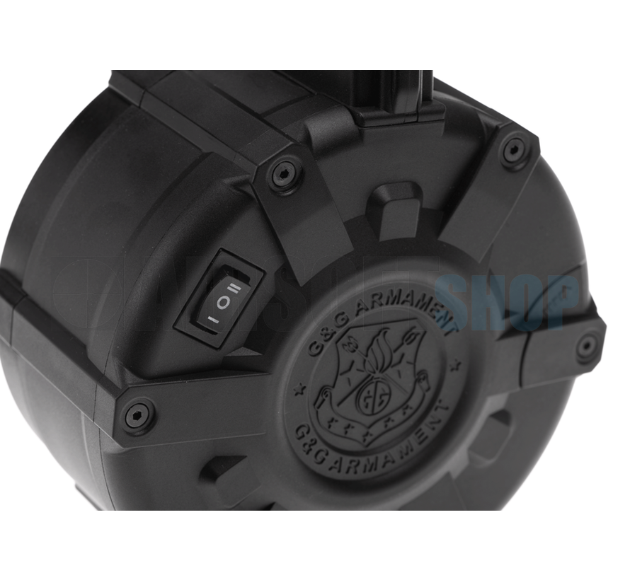 Drum Mag M4 Auto-Winding (2300rds)