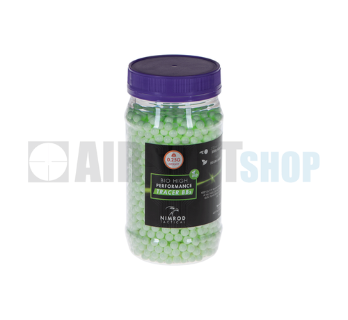 Nimrod Bio Green Tracer BB 0,25g (2000rds)