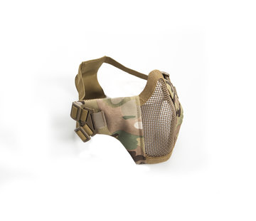 Strike Systems Nylon / Mesh Face Mask With Cheek Pads (ATP)