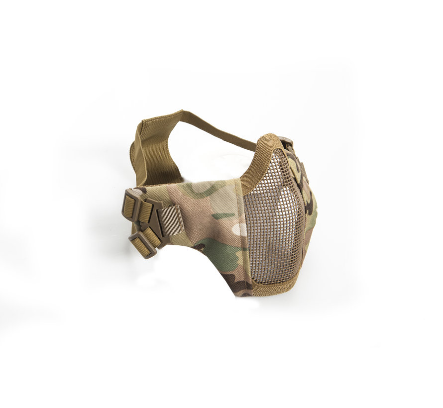 Nylon / Mesh Face Mask With Cheek Pads (ATP)